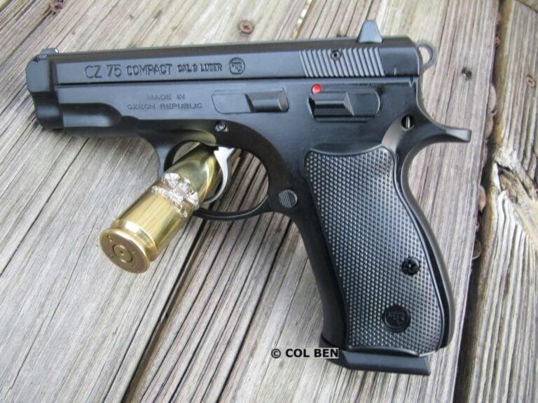 CZ 75 Compact DA/SA 9mm Pistol Review