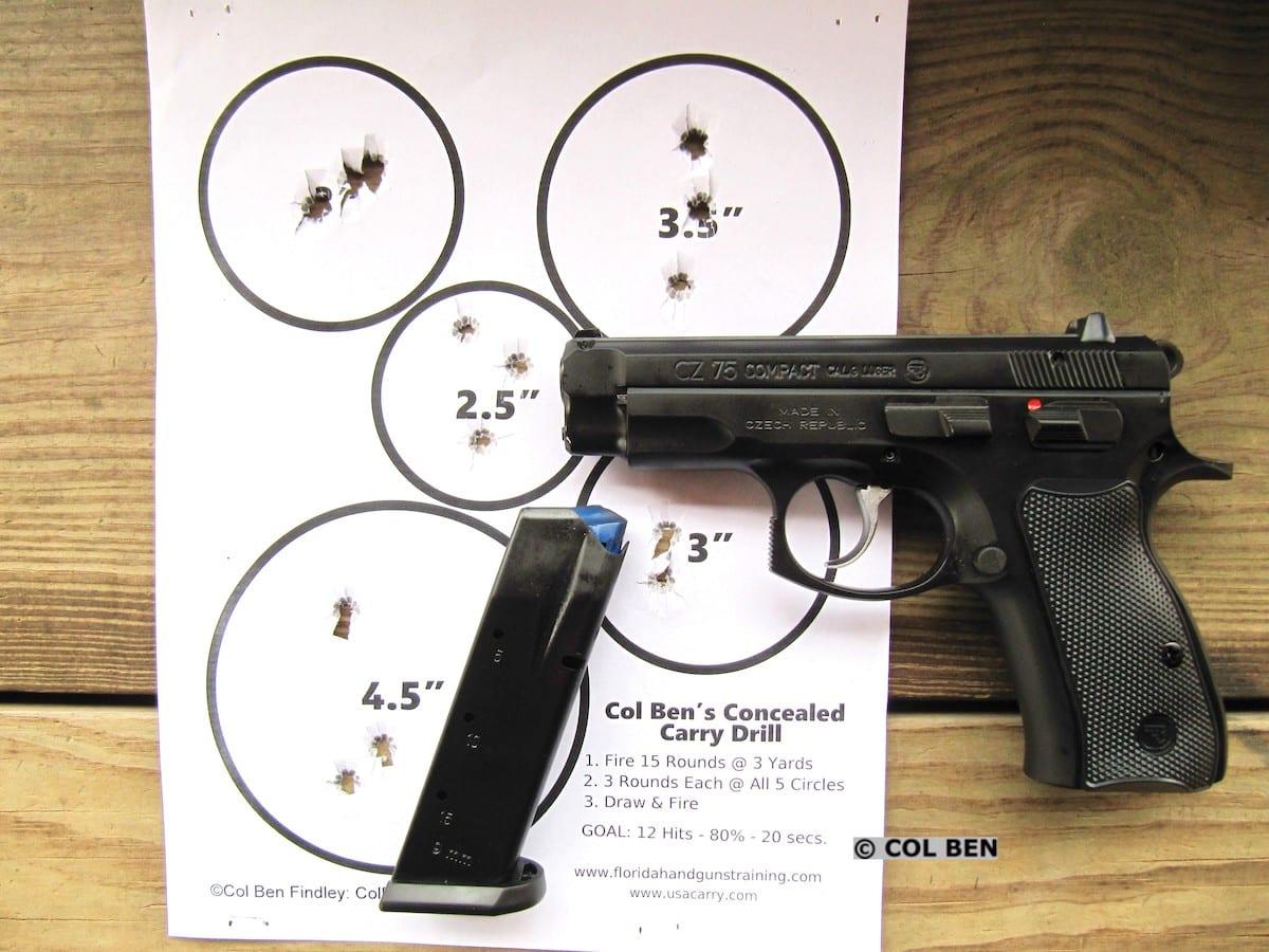 CZ 75 Compact DA/SA 9mm Pistol Review - USA Carry