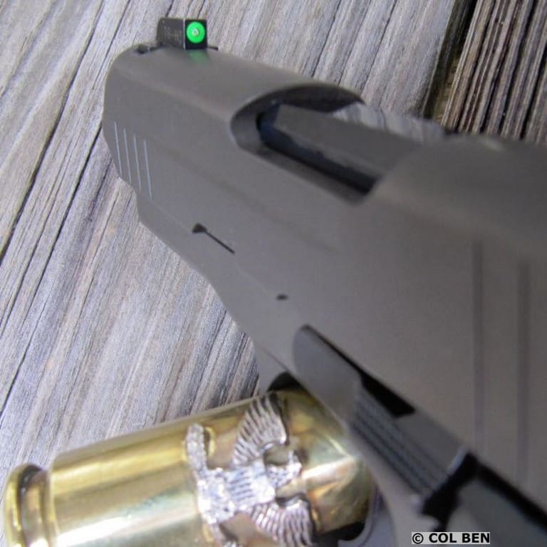 X-Ray3 High Visibility Day-Night Sights- with Tritium Vials in Front Center and Two in Rear Sight