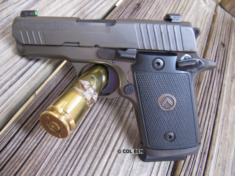 Sig Sauer P938 Legion Micro-Compact 9mm Review