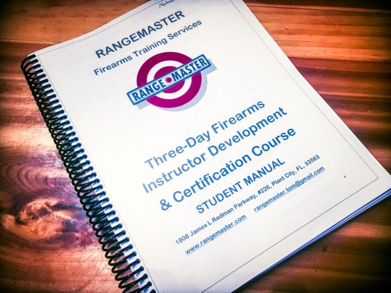 Rangemaster Instructor Development Course by Tom Givens Review