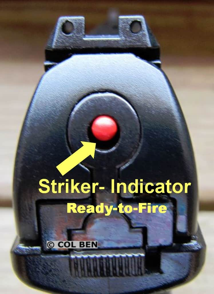 Walther CCP M2 Striker Cocked Indicator