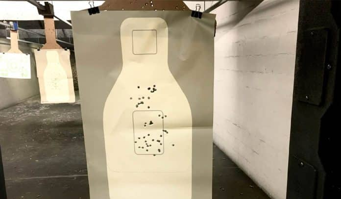Shooting the New 2019 FBI Handgun Qualification