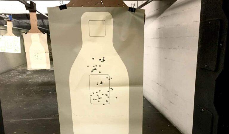 Shooting the New 2019 FBI Handgun Qualification