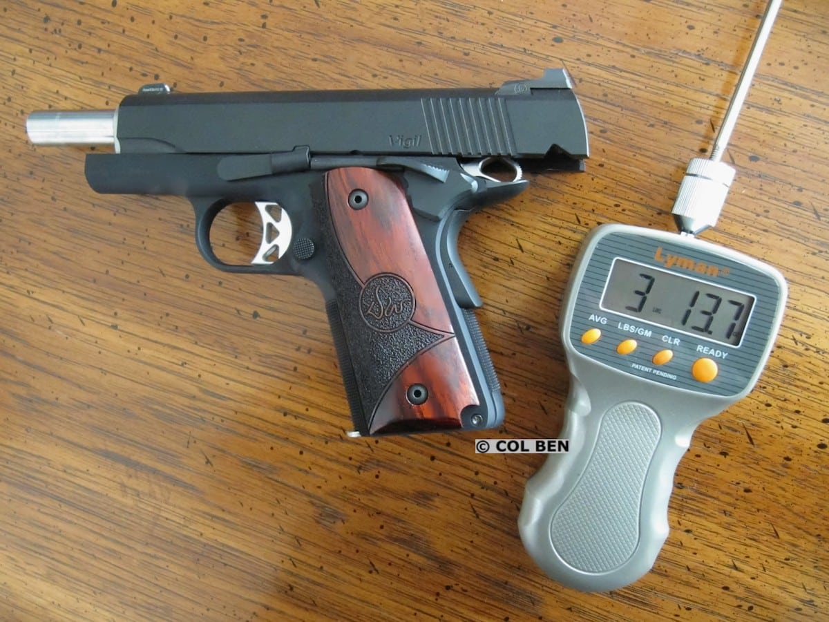 Dan Wesson Vigil CCO 9mm 1911 Review - USA Carry