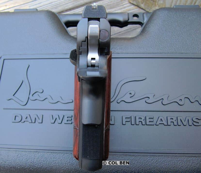 Dan Wesson Vigil CCO 9mm 1911's Night Sights and Slim Profile