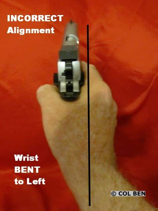 Incorrect Alignment | Bent Wrist