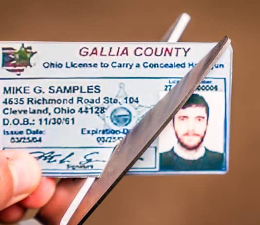 100+ Concealed Carry Licenses in Ohio Could Be Suspended