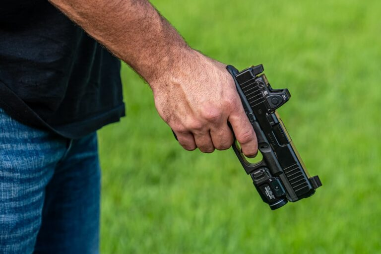 Concealed Carrier Fires Warning Shots Into Ground