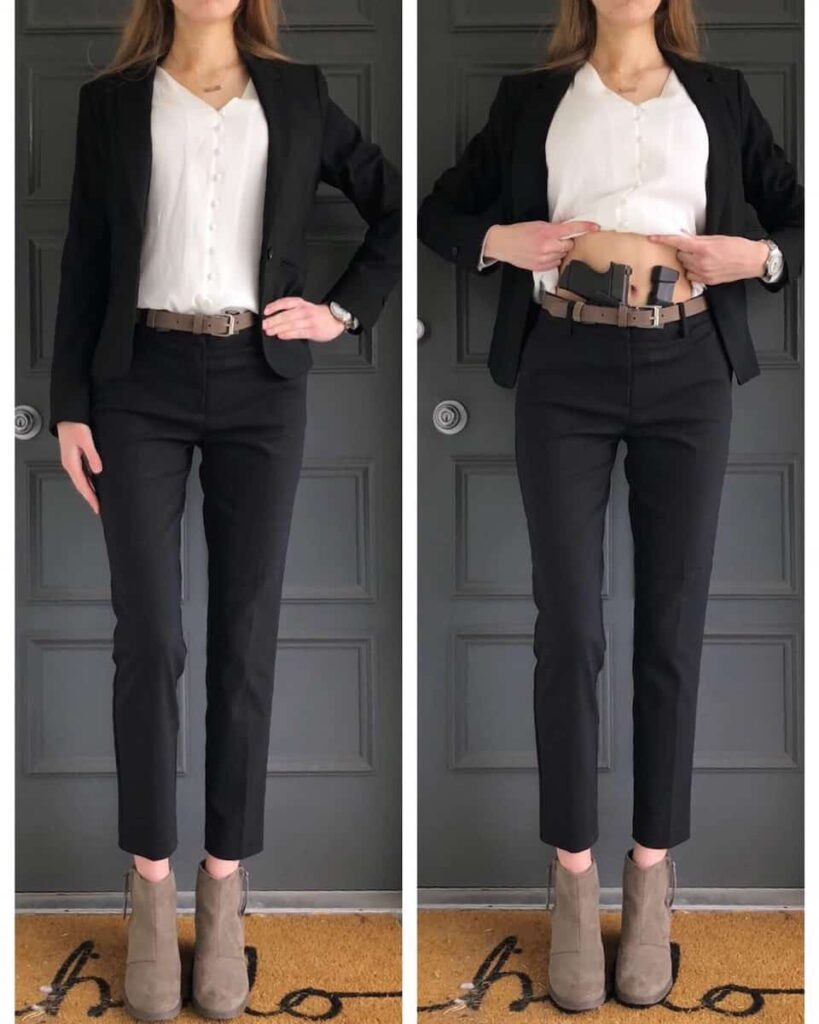 Concealed Carry Woman Business Attire