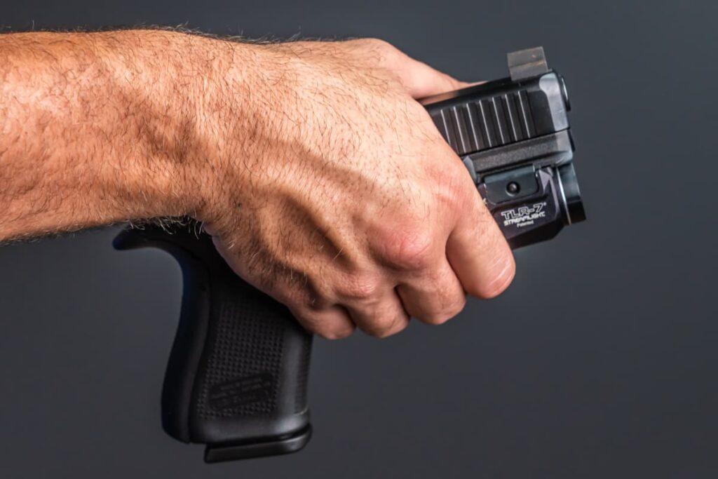 Holding Gun Around Trigger Guard