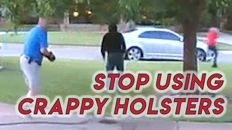 Stop Using Crappy Holsters | Holster Fail During Draw in DGU Incident