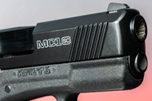 Mossberg MC1sc Front Slide Serrations
