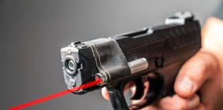 Pellet Gun w/ Laser Pointer Vs. Handgun | Which One Do You Think Won?