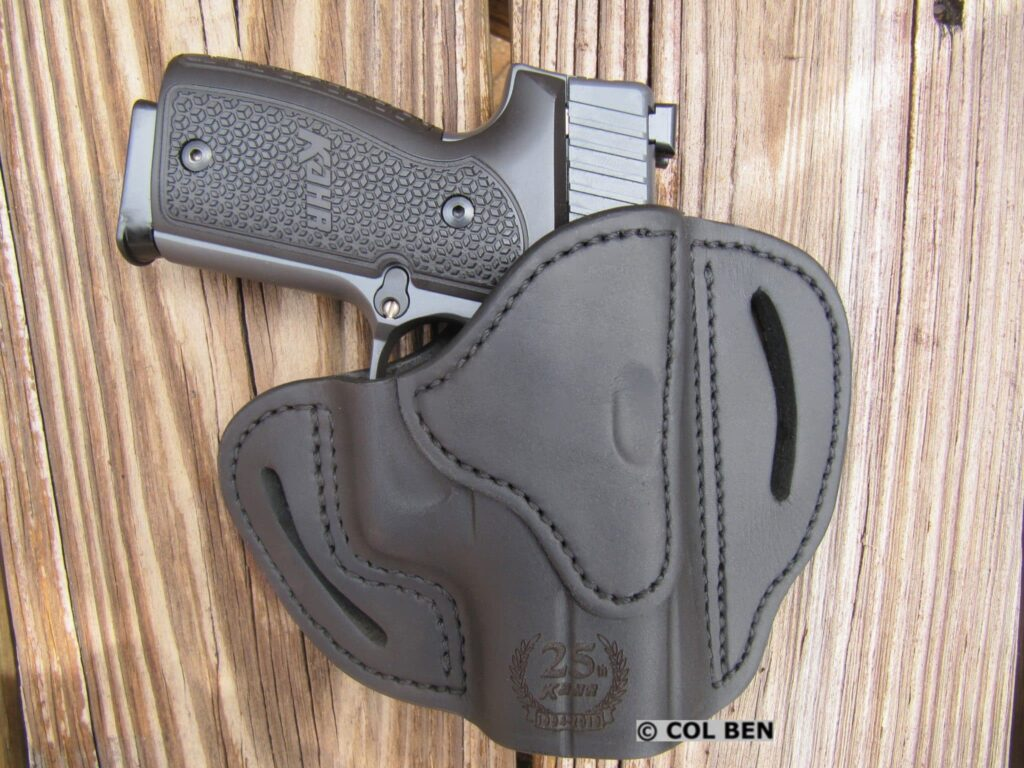 Kahr 25th Anniversary Limited Edition K9 and Included Custom 1791 Leather Holster