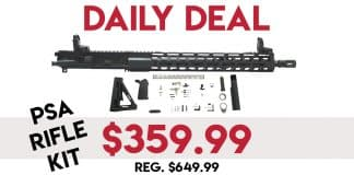 "Daily Deals: PSA 16"" Rifle Kit - $359.99 (Reg. $649.99)"