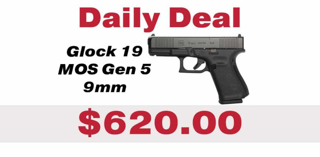 Daily Deal: Glock 19 MOS Gen 5