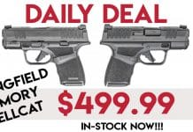Daily Deal: Springfield Armory Hellcat In-Stock