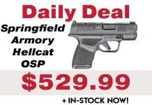 Daily Deal: Springfield Armory Hellcat OSP In-Stock!