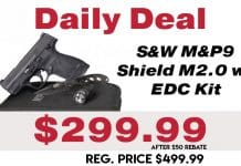 Daily Deal: S&W M&P Shield M2.0 EDC Kit