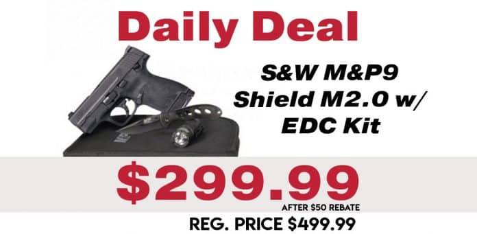 Daily Deal: S&W M&P Shield M2.0 EDC Kit