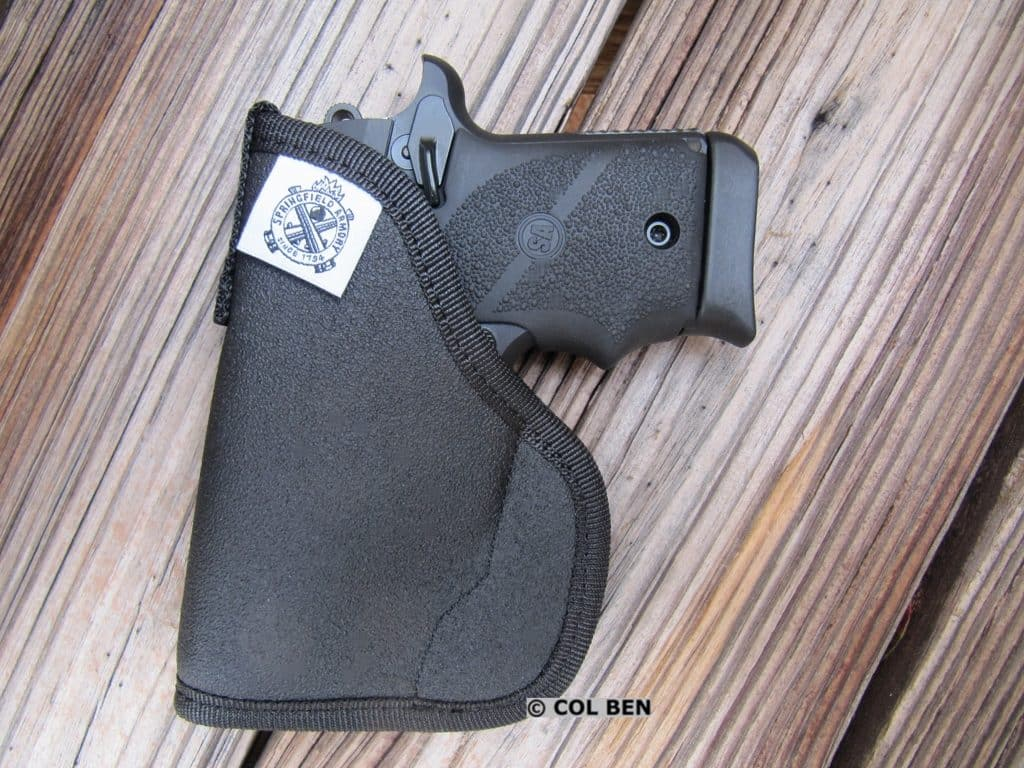 Springfield Pocket Holster Included