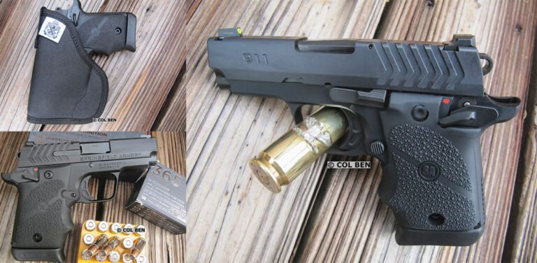Springfield Armory 911 9mm Review
