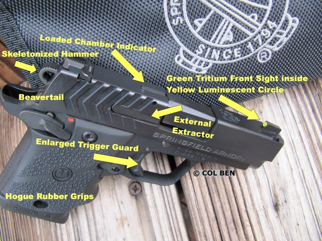 Springfield Armory 911 9mm Features