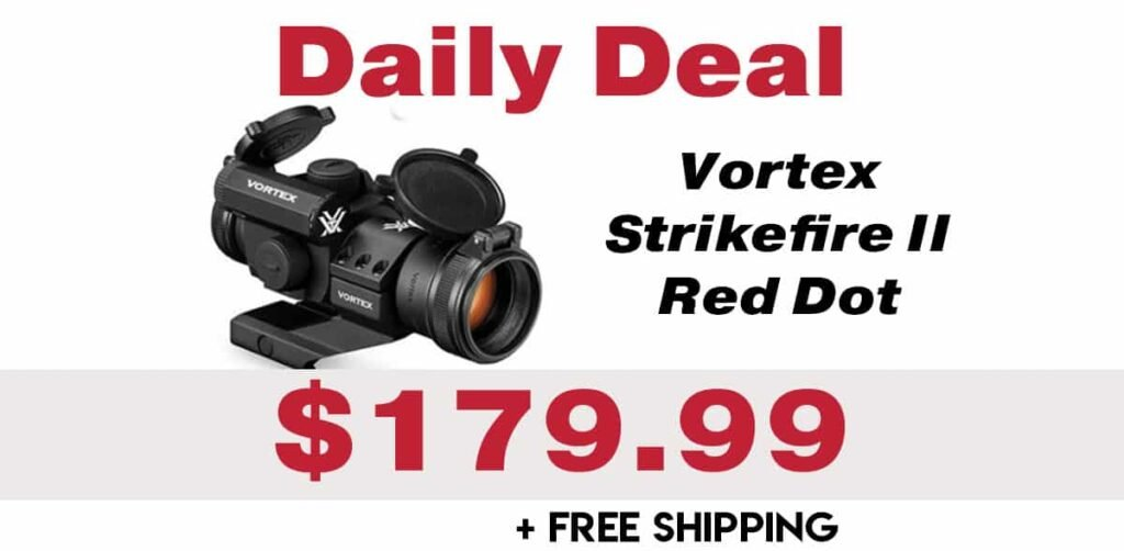 Daily Deal: Vortex Strikefire II Red Dot