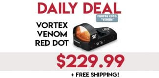 Daily Deals: Vortex Venom 3 MOA Red Dot