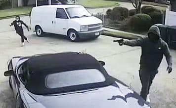 Armed Wife Saves Husband During Attempted Robbery