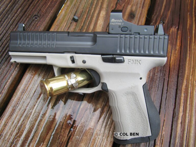 FMK 9C1 Gen 2 Compact 9mm with Burris Fastfire 3 Red Dot Review