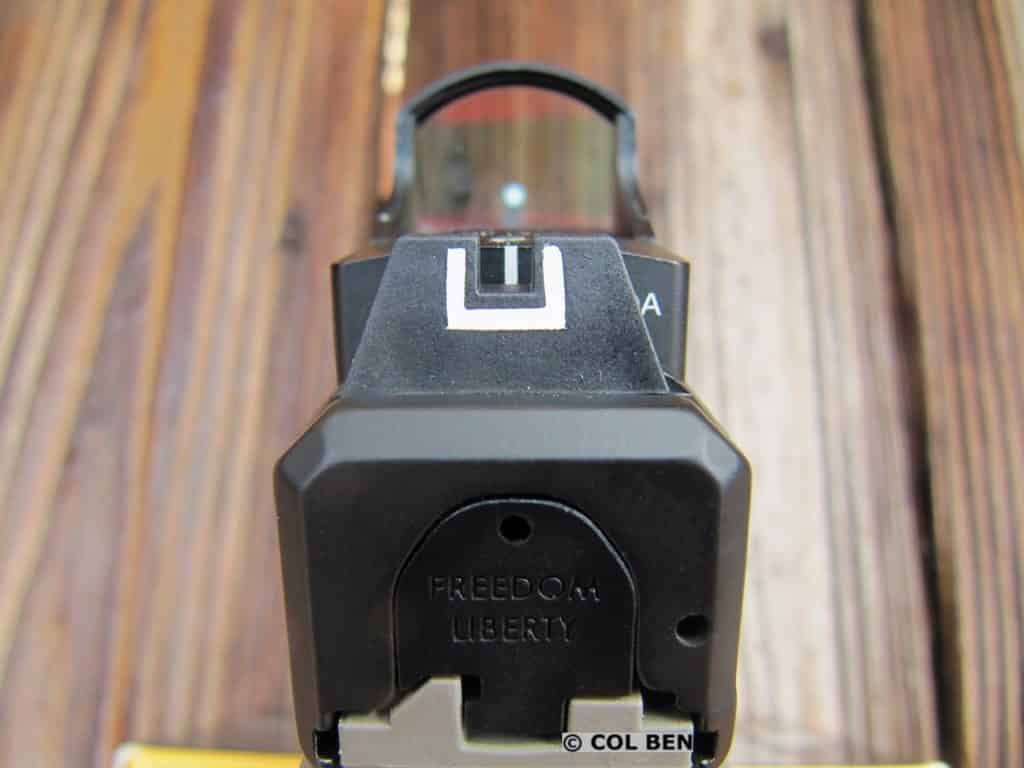 FMK 9C1 Gen 2 Elite Pro Iron Sights- Co-Witness with Burris Fastfire 3 Red Dot Sight