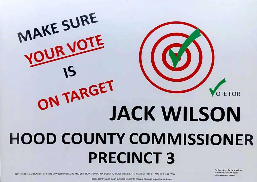 Jack Wilson: Make Sure Your Vote is on Target