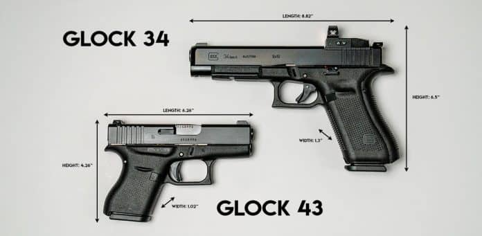 How Pistol Dimensions Influence Concealability