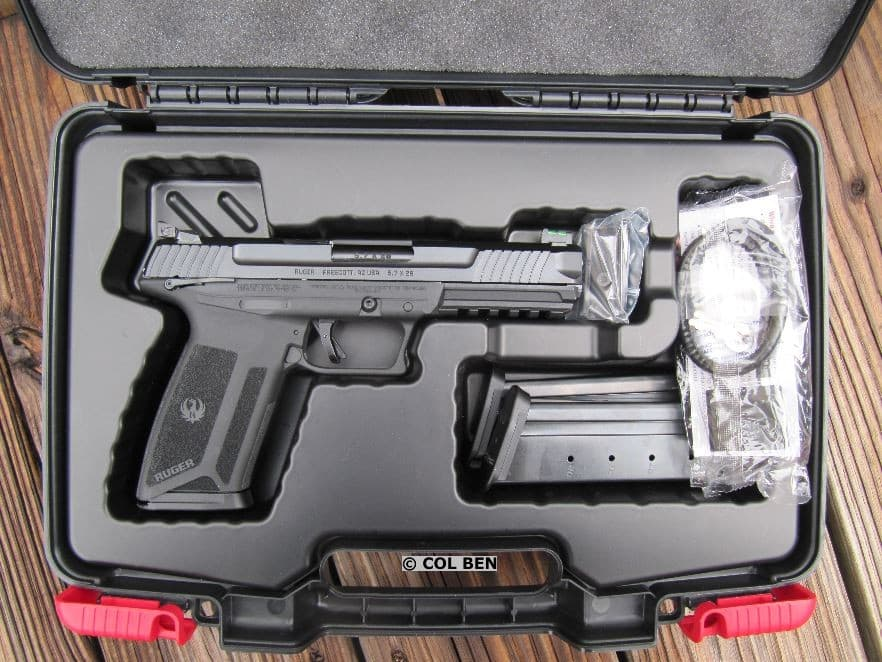 Ruger-57 in Hard Case with 3 Magazines, Optic Plate, Lock, and Chamber Flag