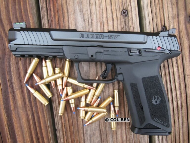 [FIRST REVIEW] The New Ruger-57 5.7x28mm Pistol