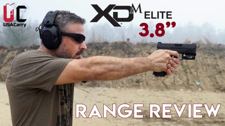 [FIRST REVIEW] Springfield Armory XDM Elite 3.8″ | Video