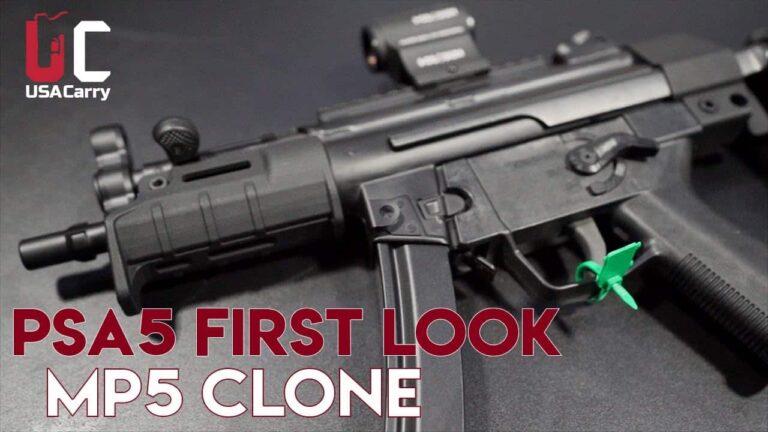 [FIRST LOOK] PSA5, An MP5 Clone with Derek Hicks, Lead Engineer