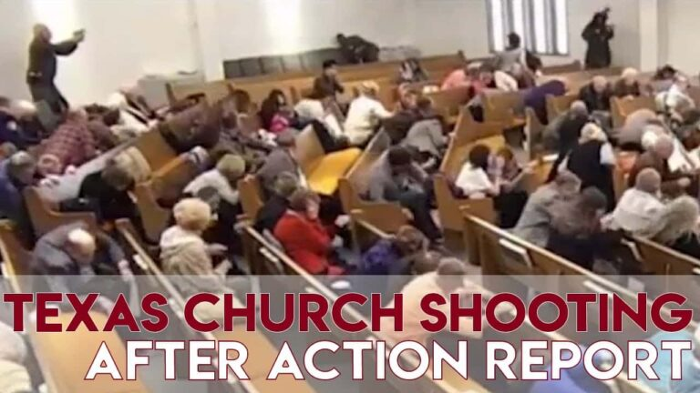 Texas Church Shooting After Action Report