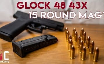 Glock 48 43X 15-Round Mag? Shield Arms S15 700 Round Review