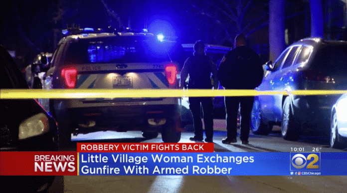 Women with Concealed Carry Permit Fights Back Against Robber