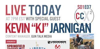 """CCX2 S01E076: Kevin """"KJ"""" Jarnigan, Content Manager at Gun Talk"""