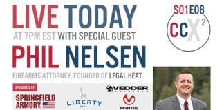 CCX2 S01E08: Returning Guest Phil Nelsen, Firearms Attorney And Founder Of Legal Heat