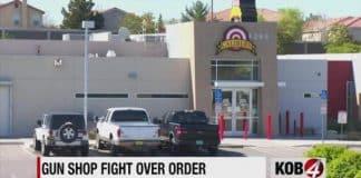 Calibers Gun Shop in Albuquerque Defies Public Heath Order and Reopens