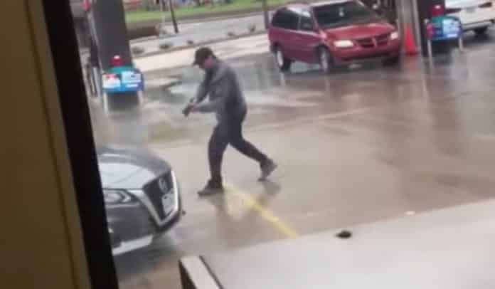 Coughing In Convenience Store Parking Lot Leads To Gunfire