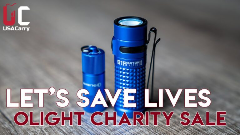 Let's Save Lives | Olight Charity Sale | 30% OFF & Limited Editions