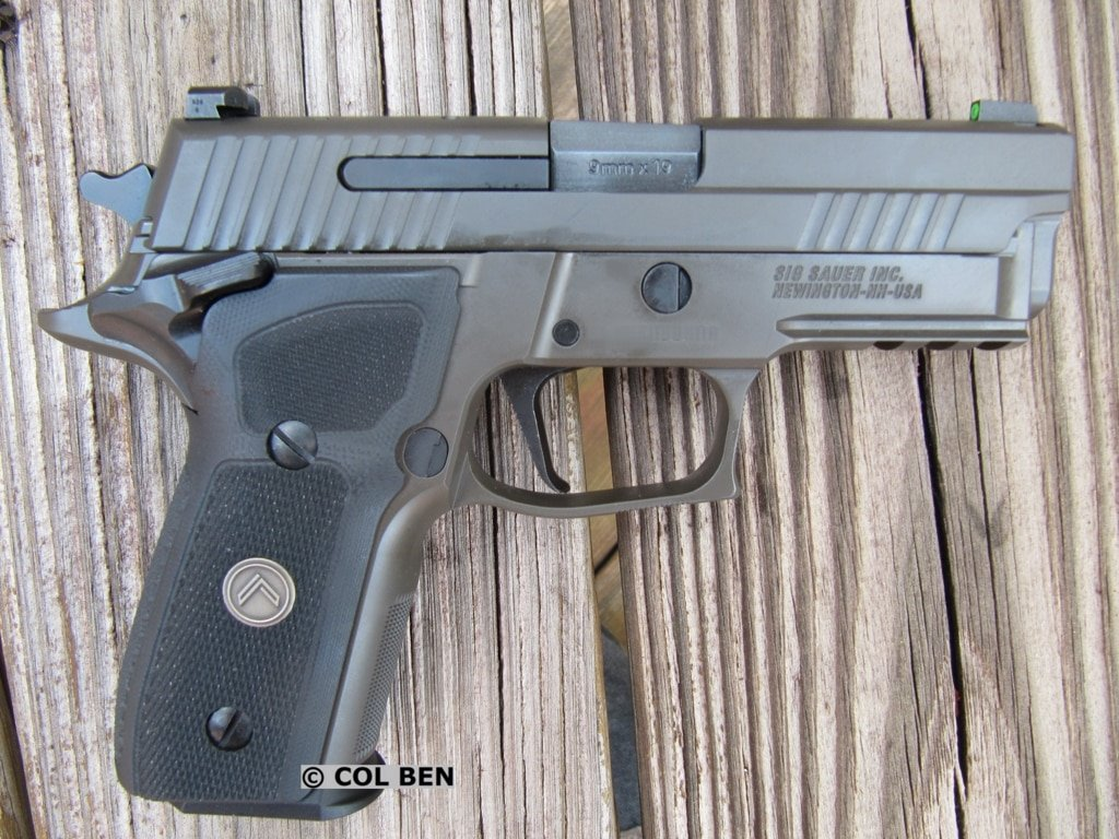 Sig Sauer P229 Legion SAO 9mm with Ambi Safety