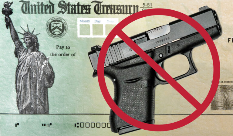 BREAKING: White House Declares Stimulus Checks Cannot Be Used to Buy Firearms or Ammo