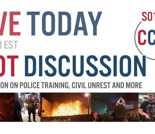 CCX2 S01E15: Riot Discussion Live, Police Training Discussion